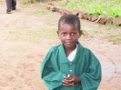 T shirts given to Nyamphande kids